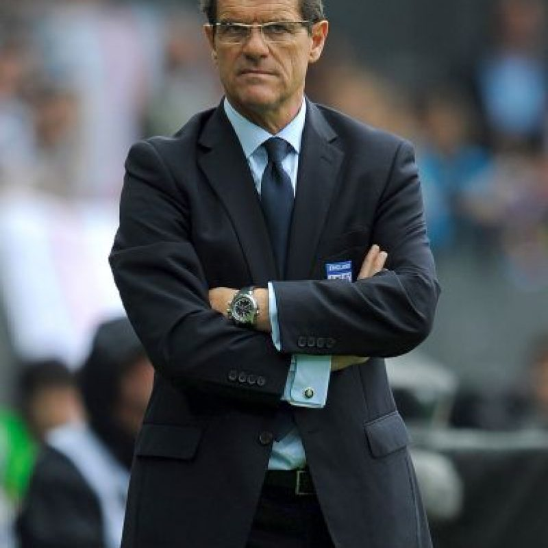 3. Fabio Capello Foto: Getty Images