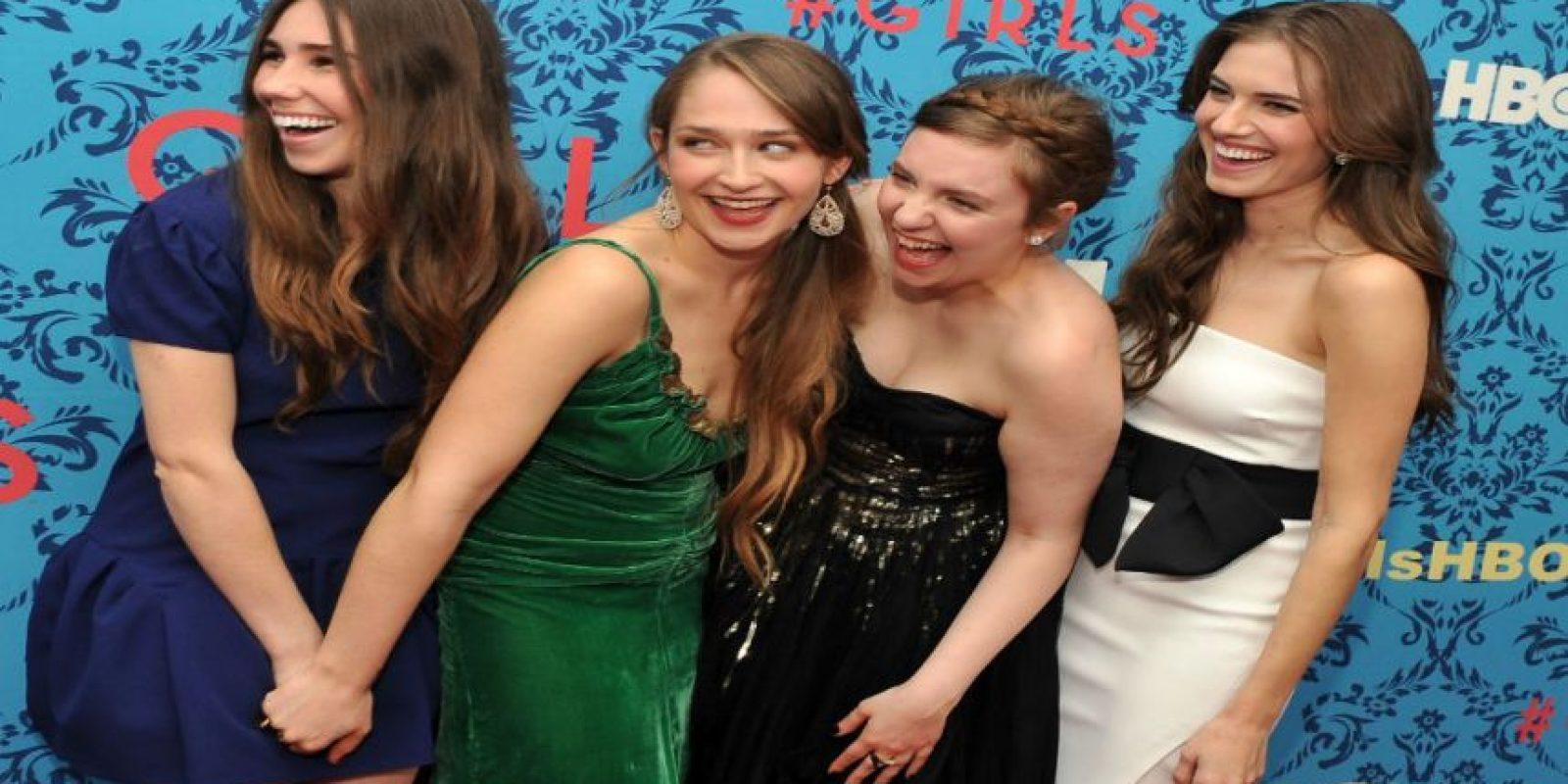 """""""Girls"""", una de las series más recientes de la productora. Foto:Getty Images"""