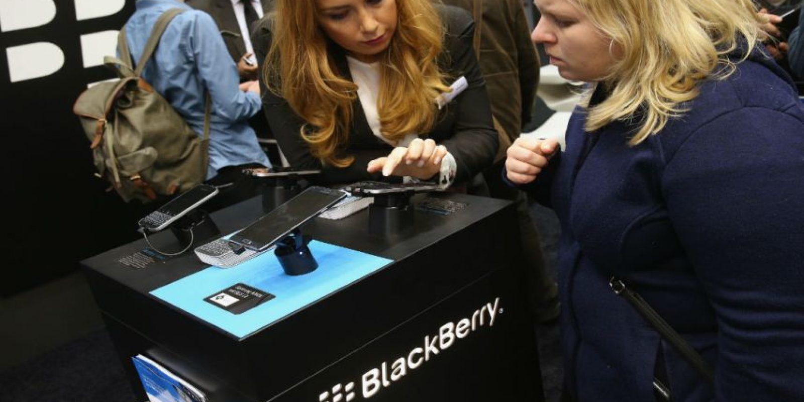 BlackBerry entró en declive desde la popularización de Android e iPhone. Foto:Getty Images