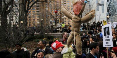 Esta situación tuvo que ver con la polémica candidatura de Donald Trump Foto:Getty Images