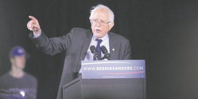 Sanders acecha a Clinton en carrera demócrata