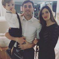 En 2013 nació el primer hijo de la pareja, Martín. Foto:Vía instagram.com/ikercasillasoficial