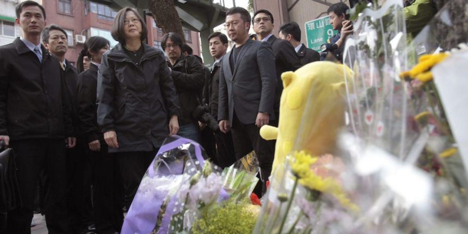 Así recuerdan a la pequeña Liu, quien fue decapitada frente a su madre Foto:AP