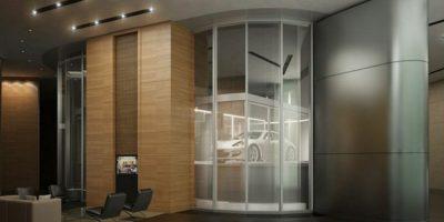 Tendrá 3 residencias por planta. Foto:Porsche Design Tower