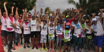 Color Vibe 5K pintó Punta Cana de alegría