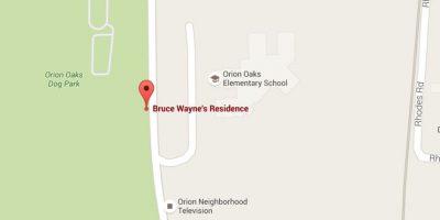 En Google pueden conocer la mansión de Batman
