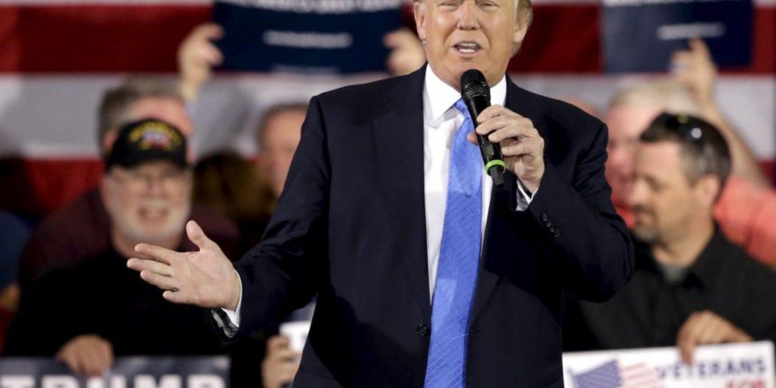 Y aunque todo mundo creía que era una broma de mal gusto, su candidatura ha tomado fuerza. Foto:AP