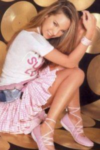 Así se veía en 2006 y así comenzó su cambio… Foto:Vía instagram.com/belindapop/