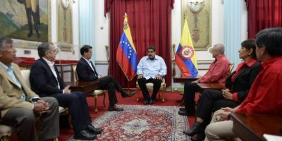 El fin del conflicto inició en Venezuela. Foto:AFP