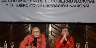 El presidente colombiano Juan Manuel Santos lo confirmó. Foto:AFP