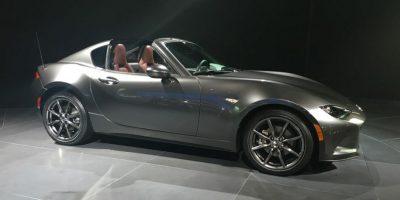 Mazda presentó en el NYIAS la nueva generación del MX-5 R que llegará con dos motores de gasolina a escoger. Foto: víktor rodríguez-velázquez