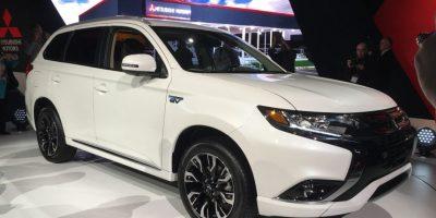 Mitsubishi presentó su primera SUV con sistema de conexión eléctrica o plug-in.  Foto: víktor rodríguez-velázquez