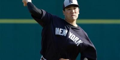 Masahiro Tanaka abrirá por los Yankees en el Día Inaugual