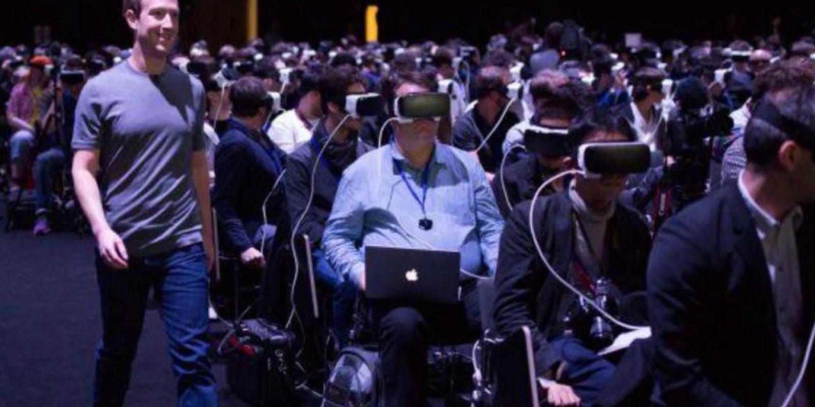 El CEO de Facebook presentó los lentes Oculus Rift. Foto:Facebook/Mark Zuckerberg