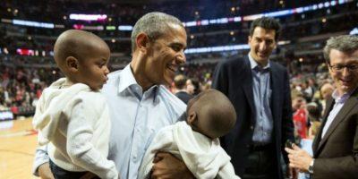 Fotografías como esta muestran un lado distinto de Barack Obama. Foto: Vía whitehouse.gov/photos