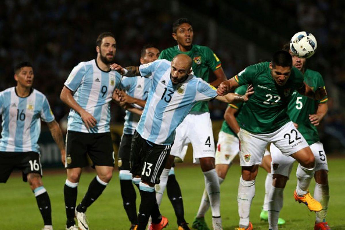 Con estos resultados, Argentina es tercer lugar en las eliminatorias de Conmebol rumbo a Rusia 2018. Foto:Getty Images