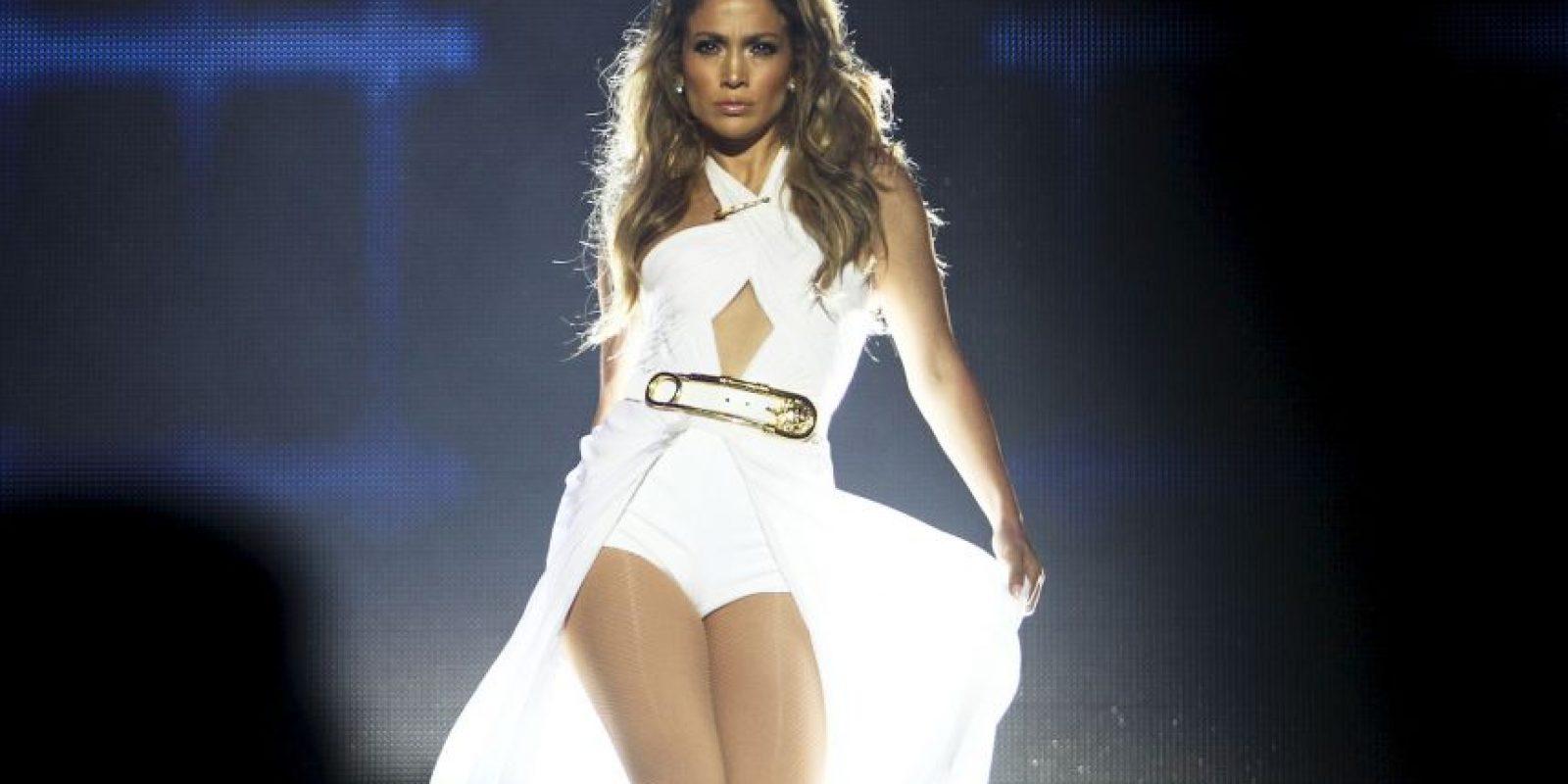 La actriz y cantante es hincha del cuadro merengue. Foto:Getty Images