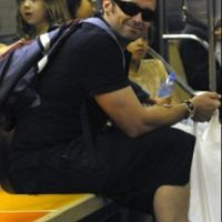 Hugh Jackman Foto: Vía celebritiesonthesubway.tumblr.com