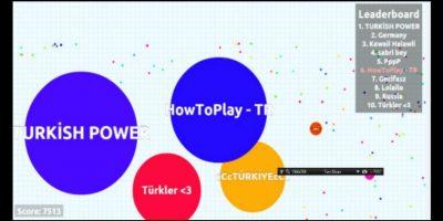 En este juego podrás enfrentarte a miles de usuarios de todo el mundo. Foto:Agar.io