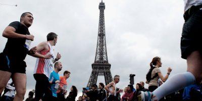 Maratón de París Foto:Getty Images