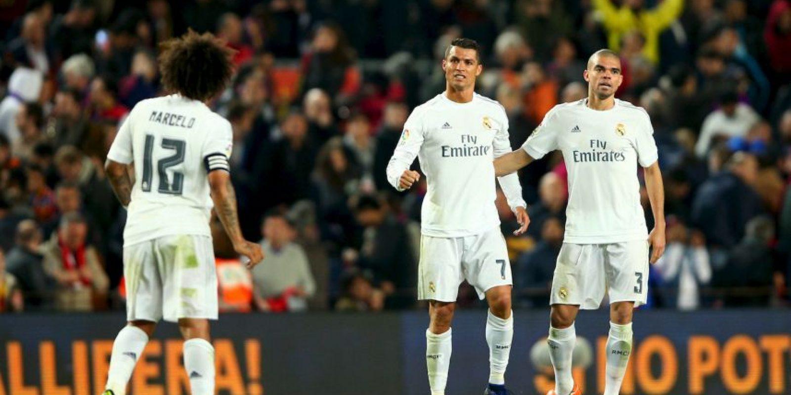 Real Madrid venció al Barcelona en el Clásico de España. Foto:Getty Images