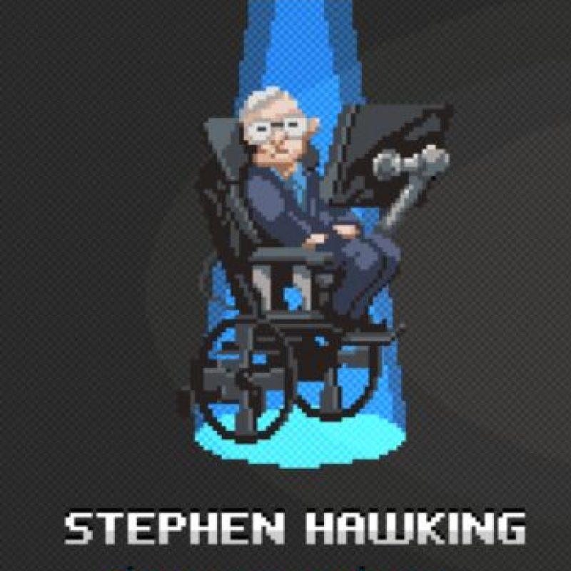 Stephen Hawking: Es el científico más famoso que sigue con vida. Predijo que los agujeros negros emitían radiación. Foto:http://super.abril.com.br/