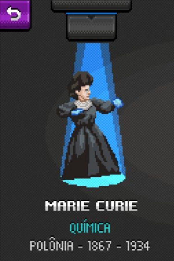 Marie Curie: Es la única persona en recibir dos veces el Premio Nobel y en dos categorías distintas (química y física), además, descubrió dos elementos (radio y polonio) y estudió la radiactividad. Foto:http://super.abril.com.br/