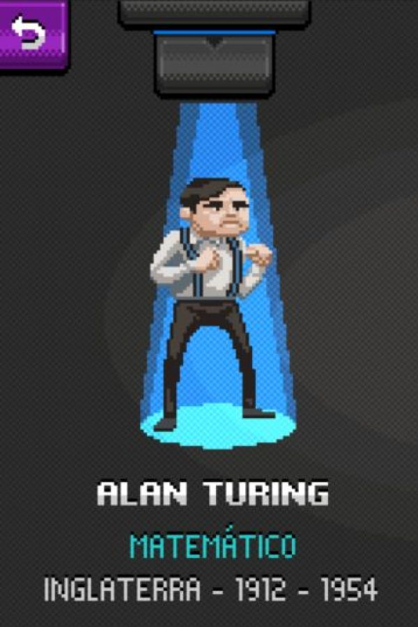 Alan Turing: Es considerado el padre de la computación. Gracias a sus aportes surgieron los conceptos de algoritmo y computación. Foto:http://super.abril.com.br/