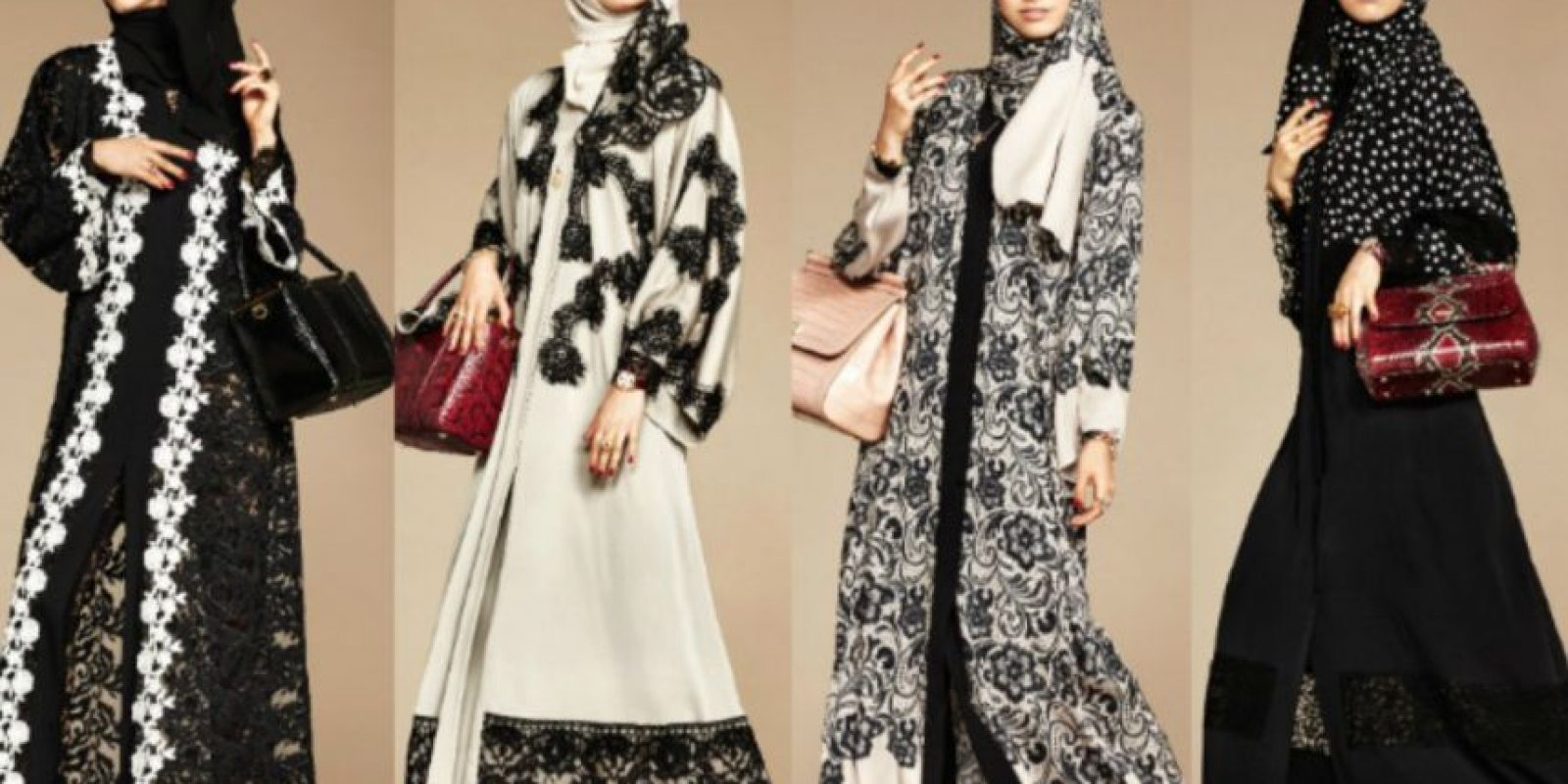 Las musulmanas son las mujeres que representan un mercado poderoso en la moda. Marcas como Dolce & Gabbana pensó en ellas. Foto:vía D y G
