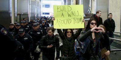 Aparte de la latina, aunque él se refiera a la inmigración ilegal. Foto:vía Getty Images