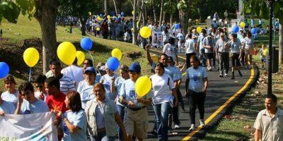 Diversión, entretenimiento y solidaridad en caminata por el Día del Autismo en el Jardín Botánico