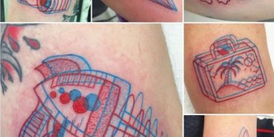 Conozcan la nueva moda: tatuajes 3D