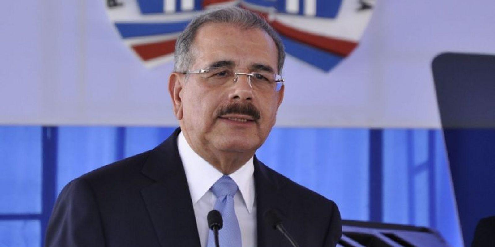 Danilo Medina. Año: 2016