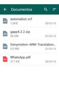 Entre nuevas actualizaciones está el envío de pdfs y zip. Foto:WhatsApp