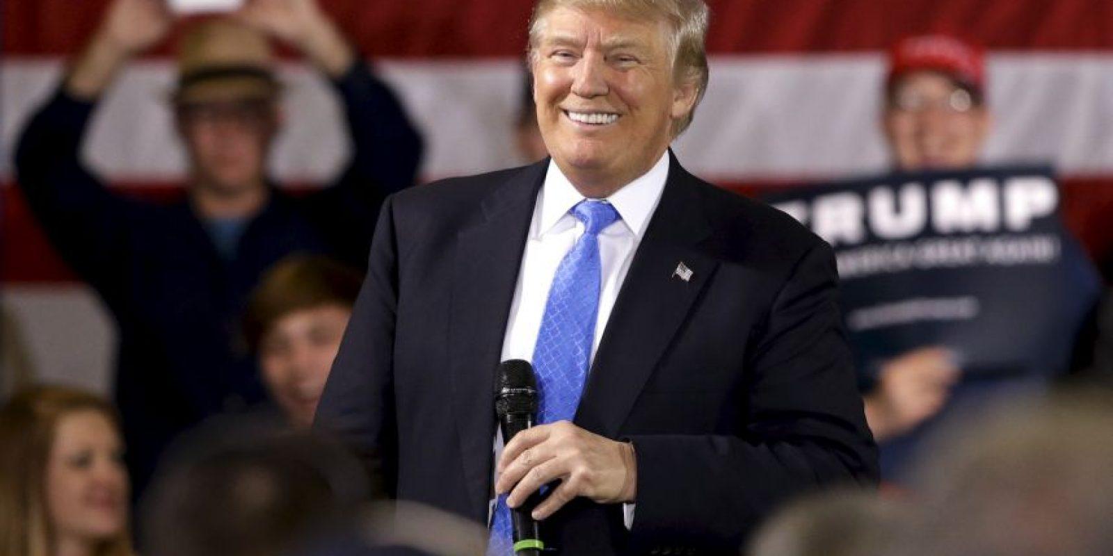 Hasta ahora Trump logró 736 delegados. Foto:AP