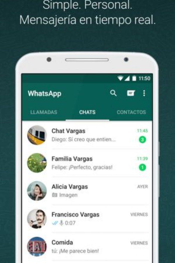 WhatsApp les permitirá estar siempre en contacto. Foto:WhatsApp