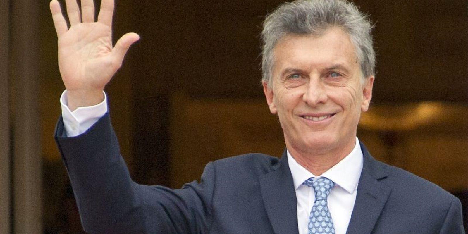 Mauricio Macri, actual presidente de Argentina. Foto:Getty Images
