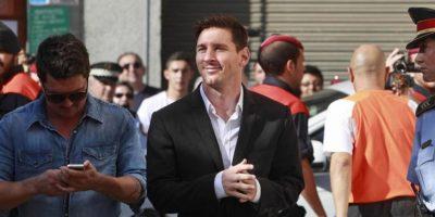 Lionel Messi, Futbolista Foto:Fuente externa