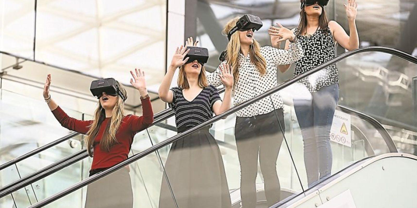 Westfield introduce el primer Oculus Rift de Realidad Virtual del mundo. Foto:Getty Images