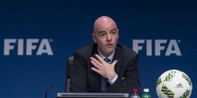 "Sucedió en el cargo a Joseph Blatter, quien dimitió luego del famoso ""FIFA Gate"" Foto:Getty Images"