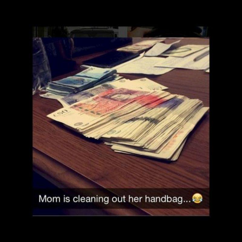 Cantidades grandes de dinero en efectivo Foto:instagram.com/richkidslondon/
