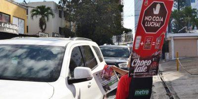 Metro y Choco Late en directo con el consumidor