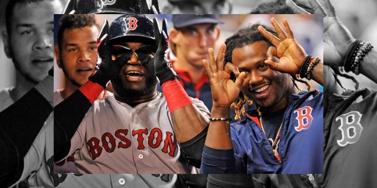David Ortiz y Hanley Ramírez sacuden jonrones con Boston