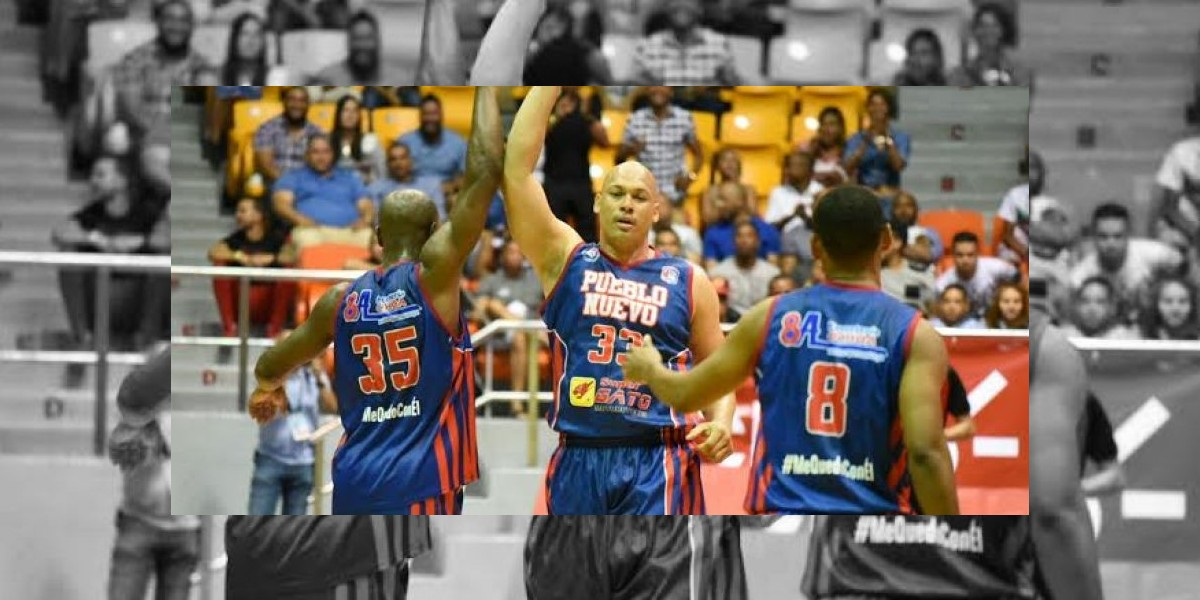 Pueblo Nuevo obtiene 2da victoria en Basket de Santiago