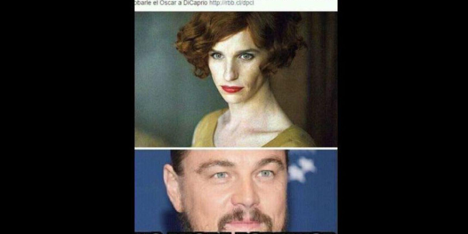 Este, muy apropiado para los Oscar pasados. Foto:vía Facebook