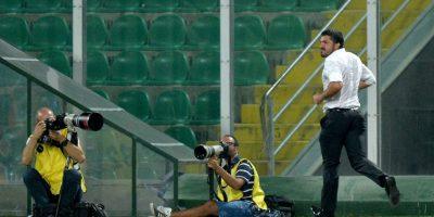 Ahora dirige a un equipo de la Tercera División de Italia Foto:Getty Images