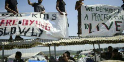 Por vulnerar el derecho de asilo de los refugiados. Foto:AFP
