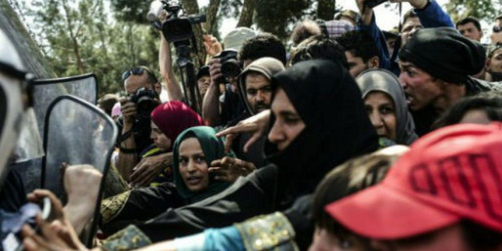 """Y endurecido más la situación de miles de personas que buscaban apoyo en el """"Viejo continente"""". Foto:AFP"""