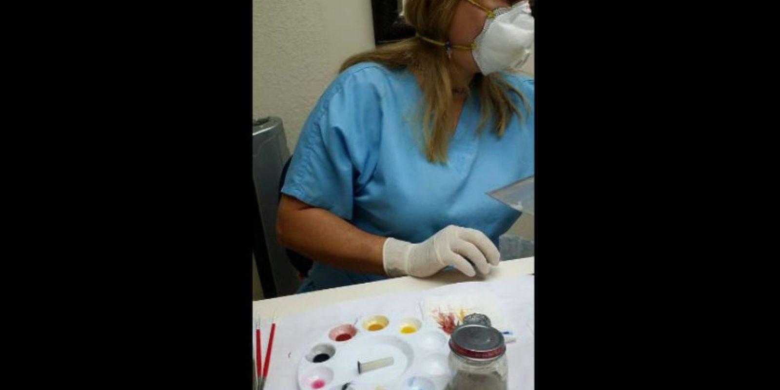 Poco después pudo conseguir una prótesis ocular. Foto:Imgur/minimonster1437