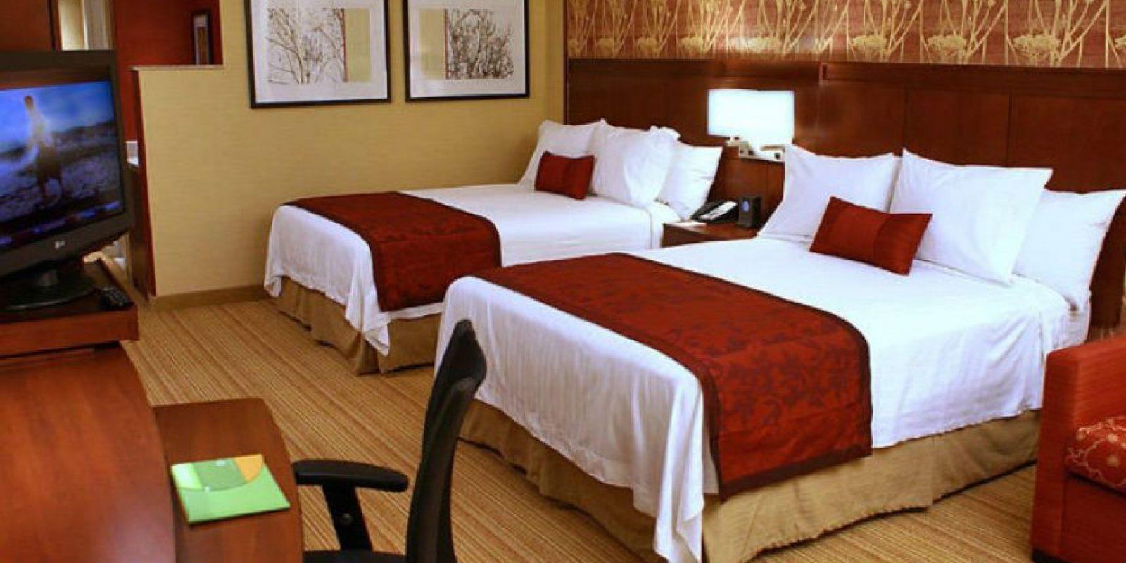 Lo que han encontrado otros usuarios de Reddit en los hoteles Foto:Marriott.co.uk
